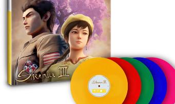 Shenmue 3 : la BO arrive au format vinyle, il y a plusieurs collectors et 15 disques au total !