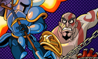 Shovel Knight : Kratos en guest-star pour les versions PlayStation