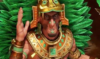Civilization VI : un trailer pour le peuple des Aztèques, jouable d'ailleurs en Early Access