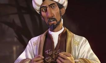 Civilization VI : voici la vidéo de Saladin, le Roi de l'Arabie