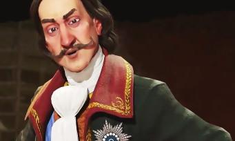 Civilization VI : c'est Pierre Le Grand qui sera le daron de la Russie