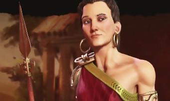 Civilization VI : c'est Gorgô, une femme, qui est à la tête de la Grèce