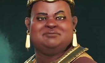 Civilization VI : la reine nubienne Amanitoré se présente en vidéo