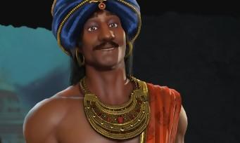 Civilization VI Rise & Fall: Chandragupta leader de l'Inde se dévoile en vidéo