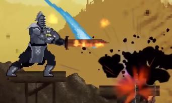 Slashy Souls : Dark Souls possède son spin-off en 2D façon 16-bit