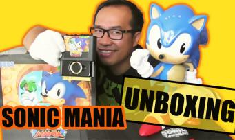 Sonic Mania : le gros collector vaut-il ses 90€ ? Réponse dans notre unboxing complet