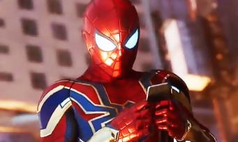 Spider-Man : une tonne de tenues dans le jeu, le fan-service sera bien présent