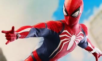 Spider-Man : Sideshow va sortir une figurine articulée à 250$ inspirée du jeu PS4
