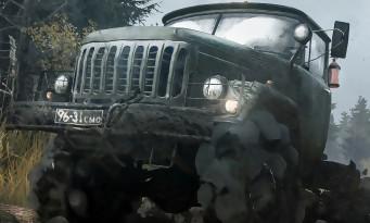 Spintires MudRunner : un trailer bien boueux pour dévoiler la date de sortie du jeu