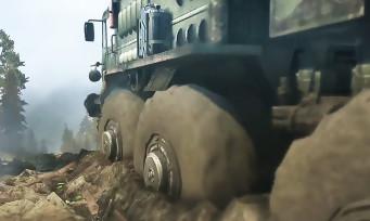 Spintires MudRunner : le jeu de course le plus boueux s'offre un premier trailer de gameplay