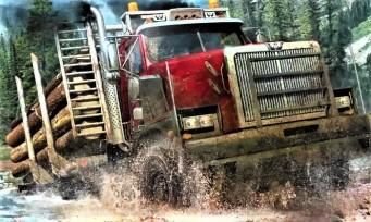 Spintires MudRunner : un trailer nous plonge dans les étendues sauvages de l'extension American Wilds