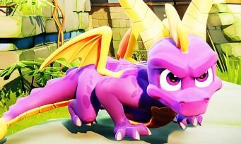 Spyro Reignited Trilogy : enfin une longue séquence de gameplay, l'heure est à la nostalgie !