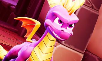 Spyro Reignited Trilogy : 5 minutes de gameplay magnifiques, le 2ème opus à l'honneur