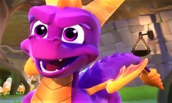 Spyro Reignited Trilogy : le jeu souffle toute une braisée d'images, une vidéo de gameplay géniale