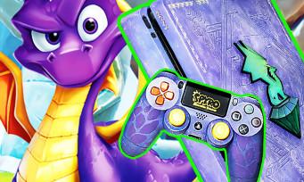 Spyro Reignited Trilogy : une PS4 custom à l'effigie du jeu, et on peut la gagner