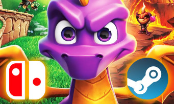 Spyro Reignited Trilogy : le charmant dragon va se poser sur Switch et PC, c'est officiel