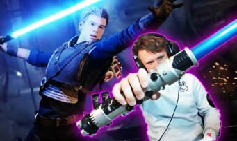 Star Wars Jedi Fallen Order : il rend un vrai sabre laser compatible avec le jeu !