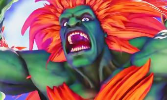 Street Fighter 5 : Capcom introduit Blanka dans une grosse vidéo de gameplay