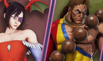 Street Fighter 5 Arcade Edition : des costumes Darkstalkers pour Jurien, Menat et Juri
