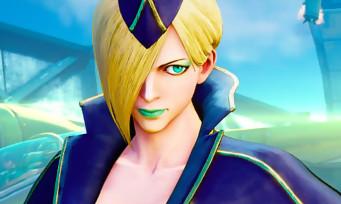 Street Fighter 5 : une vidéo de gameplay qui présente Falke sous toutes les coutures