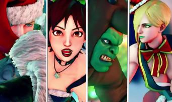 Street Fighter 5 : des costumes de Noël pour Blanka, Cody, Sakura et Falke