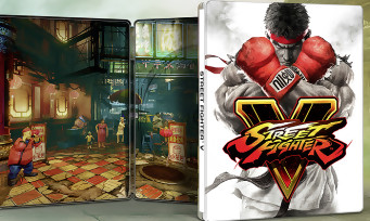 Street Fighter 5 : la Day One steelbook edition annoncée pour l'Europe
