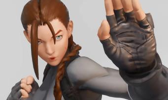 Street Fighter 5 : un moddeur transforme Cammy en Lara Croft et R. Mika en Harley Quinn