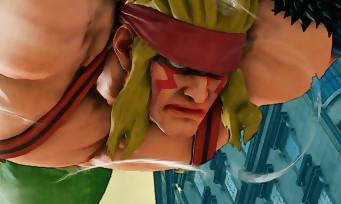 Street Fighter 5 : Capcom dévoile enfin le trailer consacré à Alex