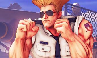 Street Fighter 5 : Capcom dévoile les images du nouveau Guile