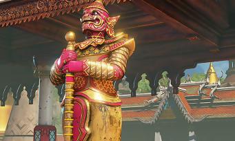 """Street Fighter 5 : le Stage """"Thaïlande"""" de M. Bison (Vega) revient dans une version remasterisée, les images"""