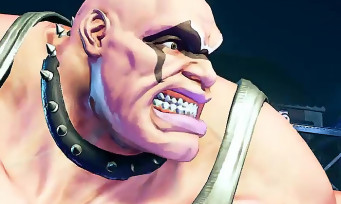 Street Fighter 5 : la grosse brute Abigail (Final Fight) débarque dans le jeu, voici son trailer