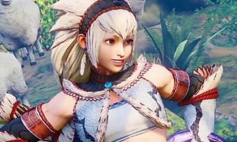 Street Fighter 5 : une vidéo de gameplay avec les costumes de Monster Hunter World
