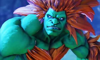 Street Fighter 5 : Blanka entre enfin dans l'arène, une vidéo avec du gameplay et une date
