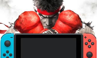 Street Fighter 5 : une sortie du jeu sur Nintendo Switch ? Capcom répond