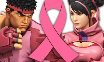 Street Fighter 5 : des costumes roses-bonbons pour soutenir la lutte contre le cancer du sein
