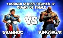 MGS 09 > Quart de finale Street Fighter IV - Drannoc vs TheKingSagat
