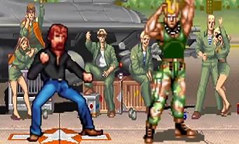 Norris Fighter : quand Chuck Norris ridiculise Ryu, Ken, Blanka et les autres !