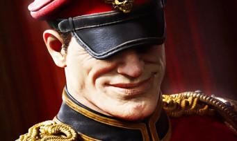 Street Fighter : Mr. Bison vu par l'illustrateur de GOD OF WAR, ça vaut le détour