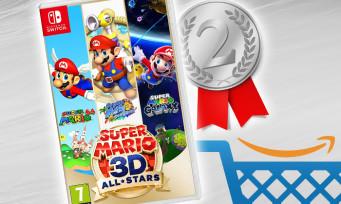 Super Mario 3D All-Stars : c'est déjà le deuxième jeu le mieux vendu sur Amazon en 2020 !