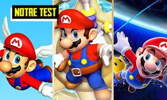 Test Super Mario 3D All-Stars : une compilation pleine de nostalgie
