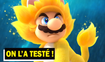 Super Mario 3D World + Bowser's Fury : on a testé le jeu sur Switch, bien plus qu'un portage ?