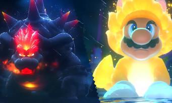 Super Mario 3D World + Bowser's Fury : Giga Bowser vs Giga Mario Chat, la vidéo de gameplay