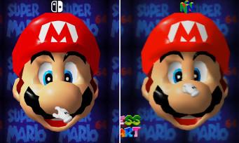 Super Mario 64 : que valent les graphismes sur Switch ? Une vidéo comparative avec la version N64