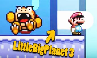 Super Mario Maker 2 : le jeu recréé dans LittleBigPlanet 3, c'est tout bonnement hallucinant