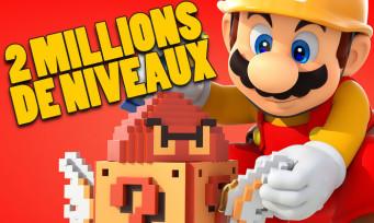 Super Mario Maker 2 : déjà deux millions de niveaux créés, c'est un carton mondial
