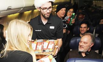 Lors d'un vol, Nintendo a offert une New 3DS et Super Mario Maker 3DS à tous les passagers