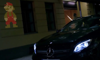 Super Mario Maker : Mercedes s'incruste dans le jeu avec la voiture GLA
