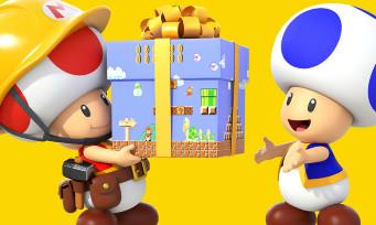 Super Mario Maker 3DS : une courte vidéo avec plein de stages dedans