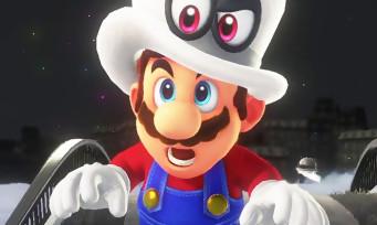 Super Mario Odyssey : un nouveau trailer de 5 min qui en met plein les yeux