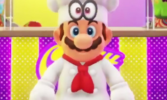 Super Mario Odyssey : 16 min de présentation pour découvrir le monde de la nourriture !